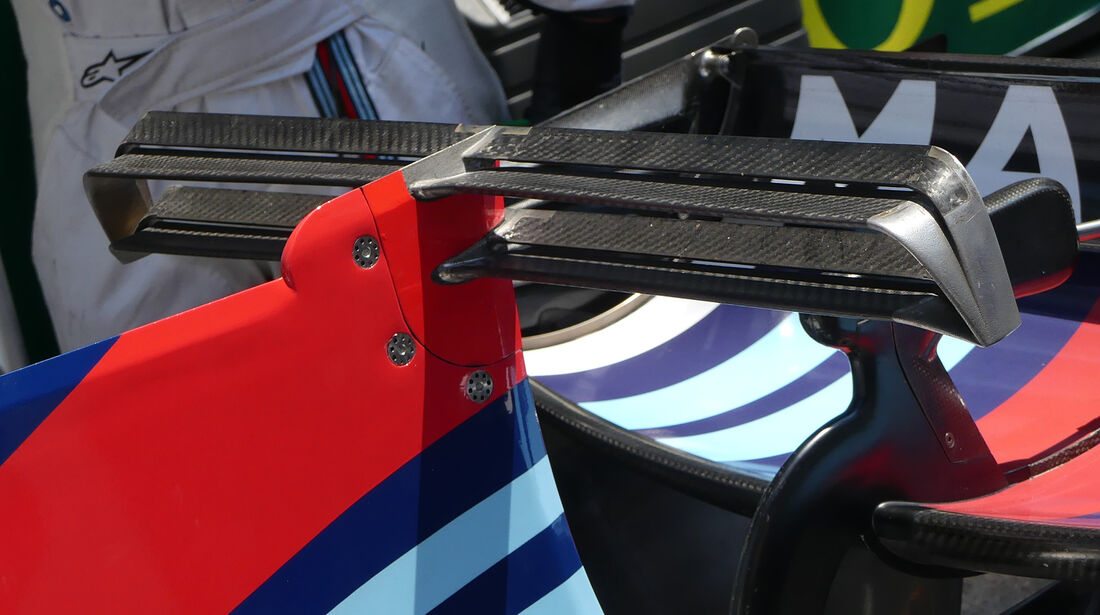 Williams - T-Flügel - F1-Technik - GP Monaco 2017