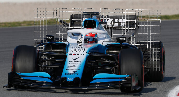 Williams - Technik - Barcelona - F1-Test 2019
