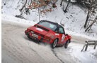 Winter Trail, Porsche 911 Targa, Heckansicht
