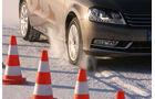 Winterreifentest, Reifen, Bremstest, Schnee