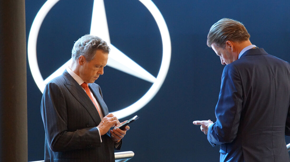Wolfgang Dürheimer und Stefan Sielaff Mercedes