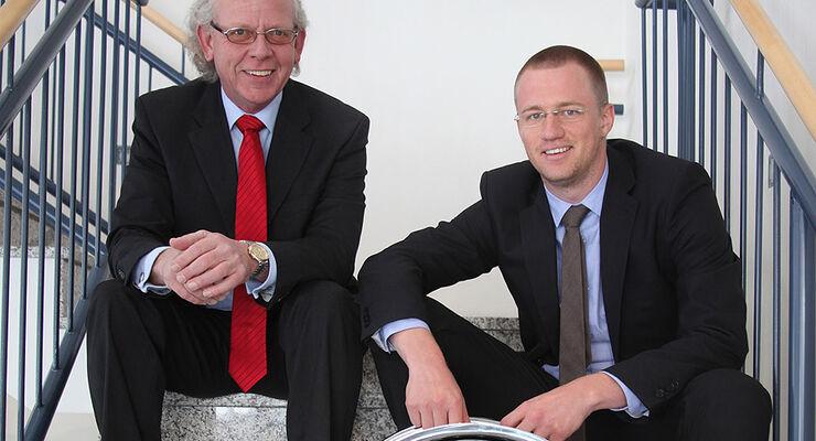 Wolfgang Späth und Robert Böhmer