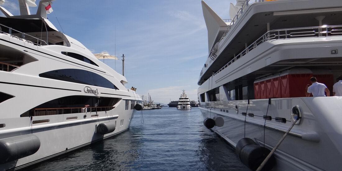 Yachten - GP Monaco - 23. Mai 2012