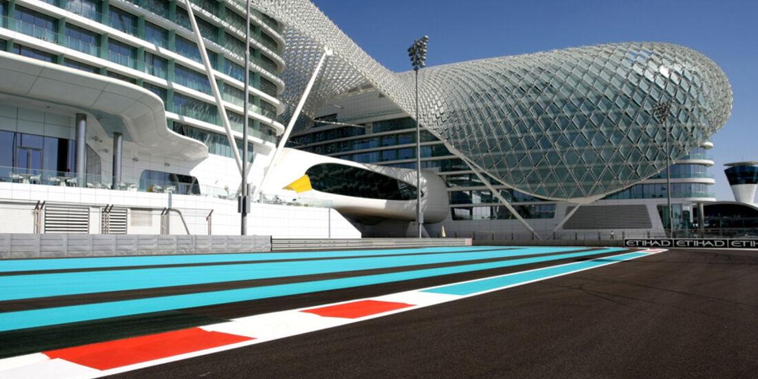 Yas Marina Circuit - GP Abu Dhabi - 10. November 2011