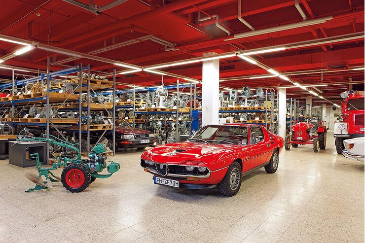 ZF-Archiv, Irus-Balkenmäher, Alfa Romeo Montreal, Porsche Traktor