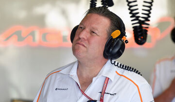 Zak Brown - McLaren - Formel 1 - 2018