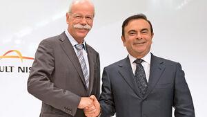 Zetsche, Ghosn, Wirtschaft, Renault, Daimler