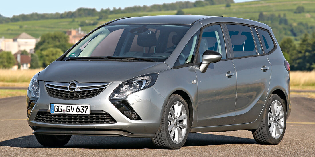 Zuladung, Fahrsicherheit, Opel Zafira Tourer 2.0 CDTI