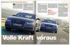ams 08/2014, Test S350 CDI vs Audi A8