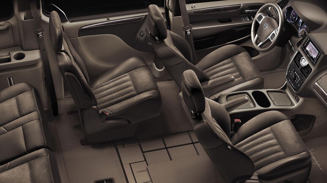asv 2014, Lancia, Innenraum