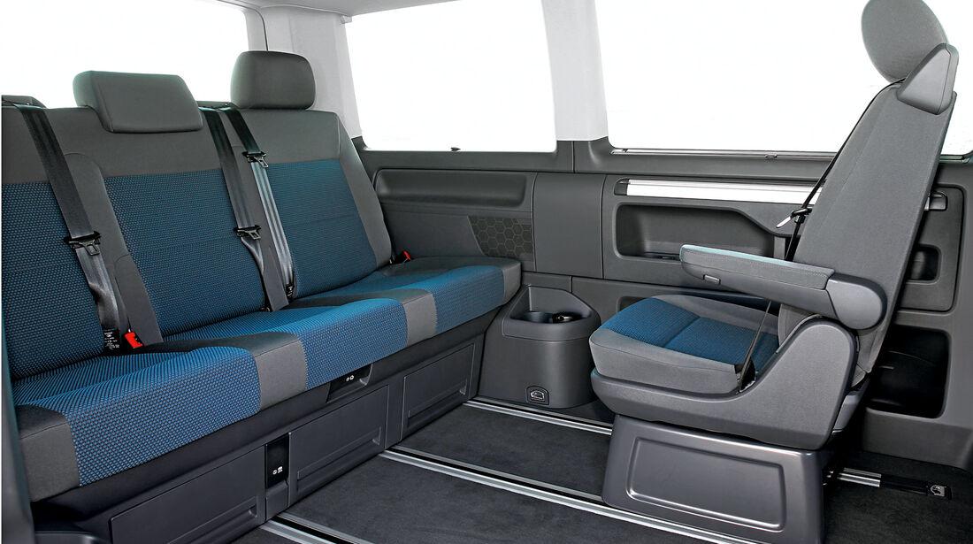 asv 2014, VW T6, Rückbank