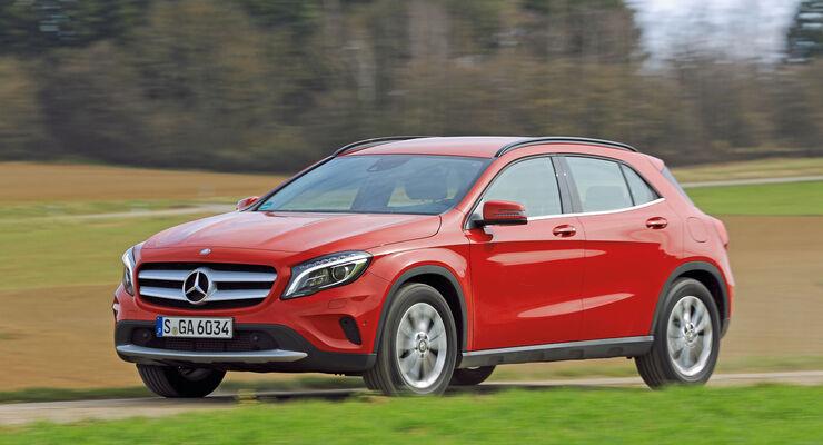 asv1314, Mercedes GLA, die besten Familienautos