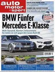 auto motor und sport Heft 13/2018 Cover