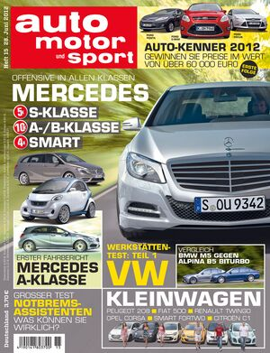 auto motor und sport - Heft 15/2012