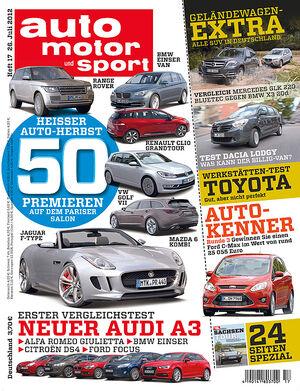 auto motor und sport - Heft 17/2012