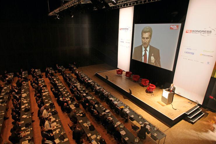 auto motor und sport-Kongress, Günther Oettinger