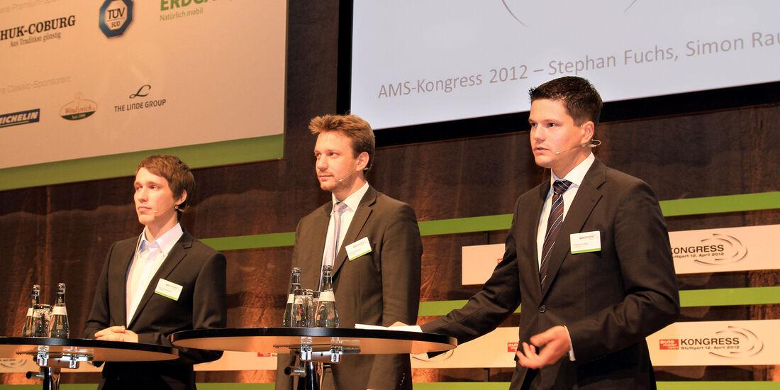 auto motor und sport-Kongress, Simon Rauchbart, Patrick Stenner, Stephan Fuchs