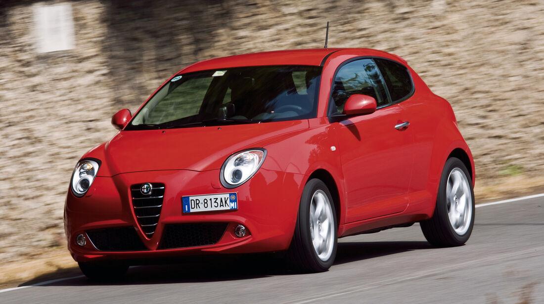 auto, motor und sport Leserwahl 2013: Kategorie B Kleinwagen - Alfa Romeo Mito