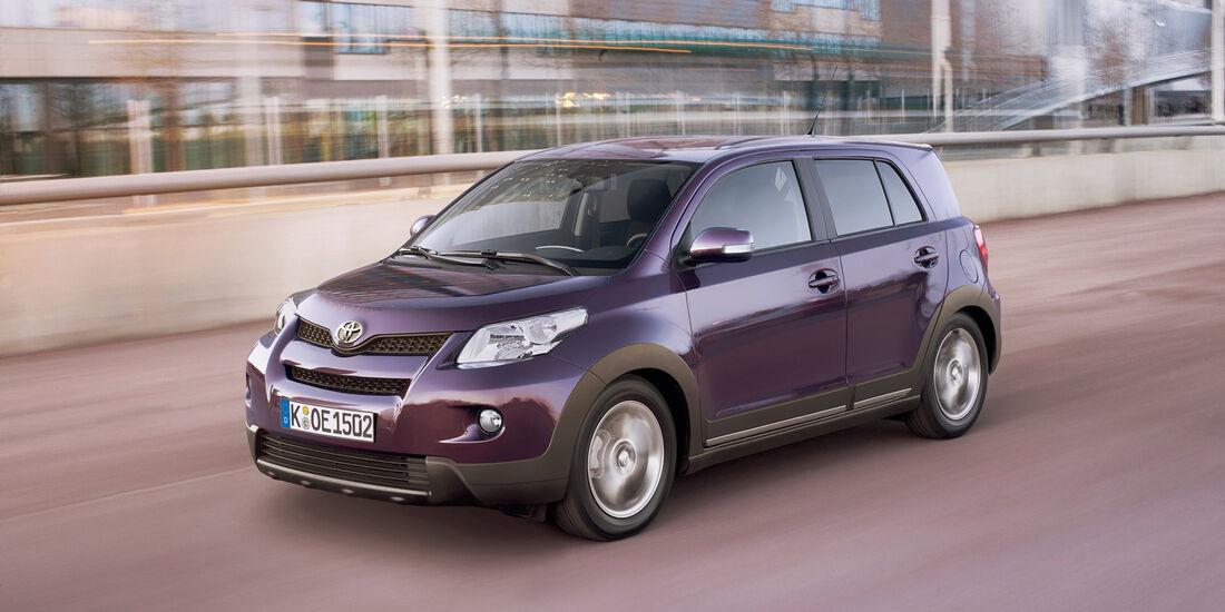 auto, motor und sport Leserwahl 2013: Kategorie B Kleinwagen - Toyota Urban Cruiser