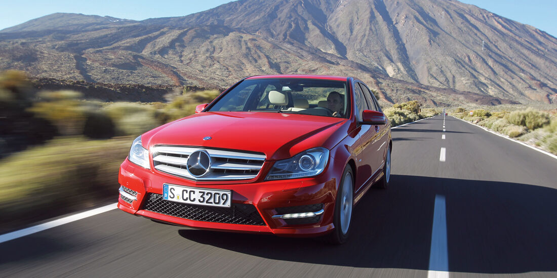 auto, motor und sport Leserwahl 2013: Kategorie D Mittelklasse - Mercedes C-Klasse