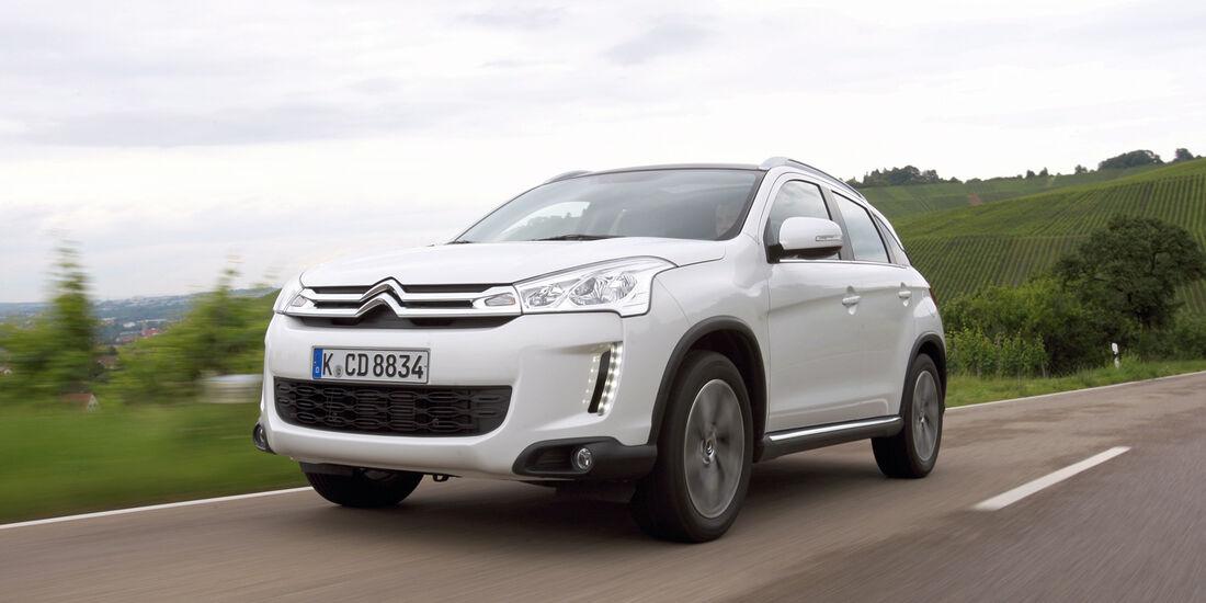auto, motor und sport Leserwahl 2013: Kategorie I Gelände - Citroën C4 Aircross
