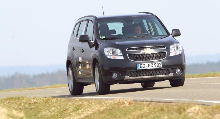 auto, motor und sport Leserwahl 2013: Kategorie K Vans - Chevrolet Orlando