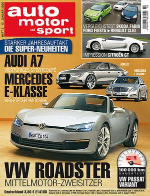 auto motor und sport Titel 03/09