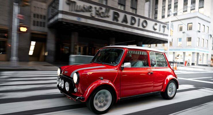 Classic Mini Electric 2018 Elektro Cooper Im Fahrbericht Auto
