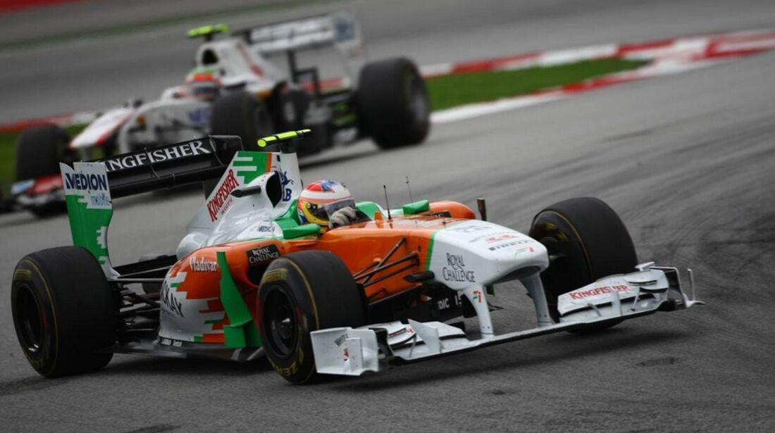 di Resta GP Malaysia 2011 Formel 1