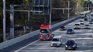 e-Highway Scania Lkw