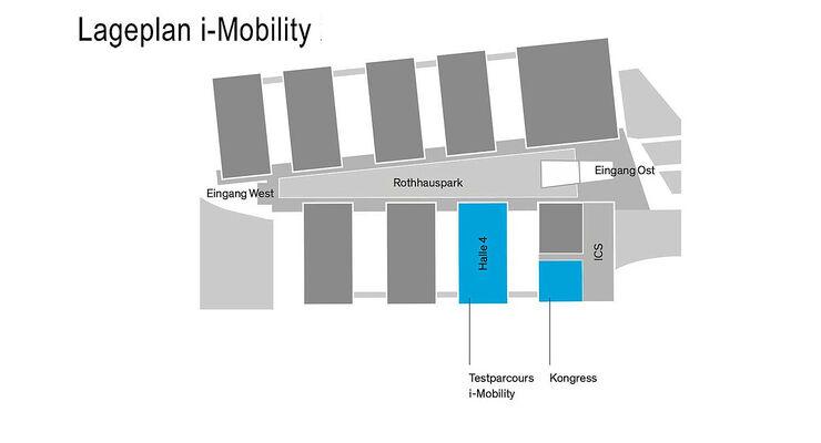 i-Mobility Lageplan