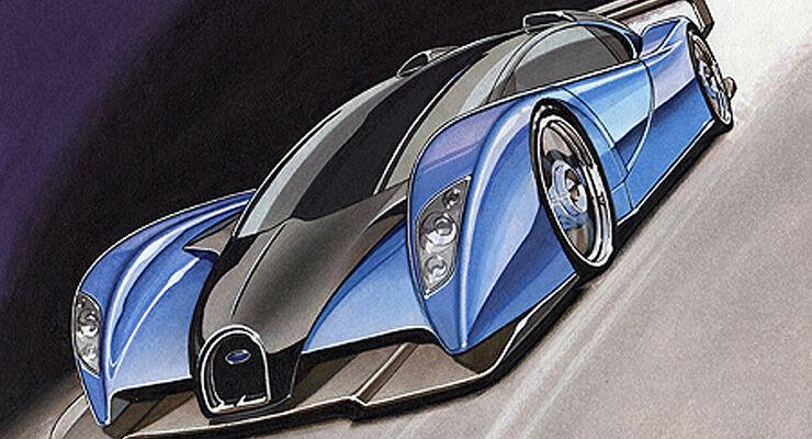 Teuerste auto der welt bugatti  Bugatti Projekt Lydia : Das teuerste Auto der Welt - AUTO MOTOR ...
