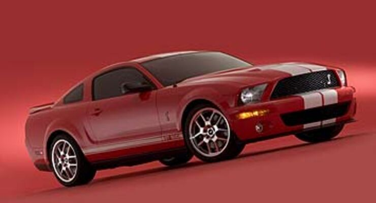 ford shelby cobra gt 500 im zeichen der schlange auto motor und sport. Black Bedroom Furniture Sets. Home Design Ideas
