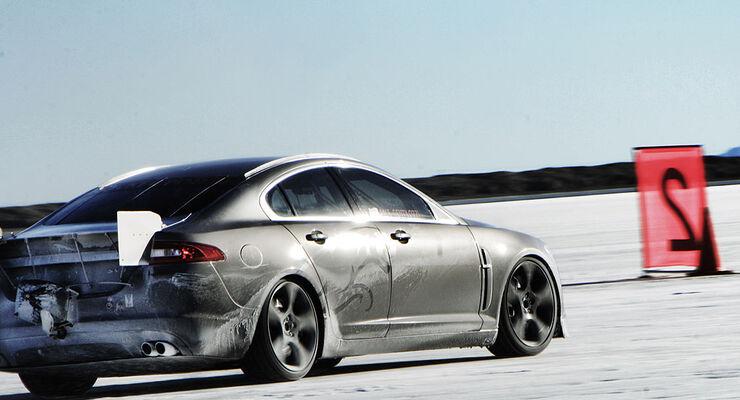 Jaguar Xfr Schnellster Jaguar Aller Zeiten Auto Motor Und Sport