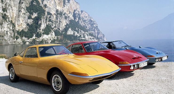 Opel Gt Feier Zum 40 Geburtstag Auto Motor Und Sport