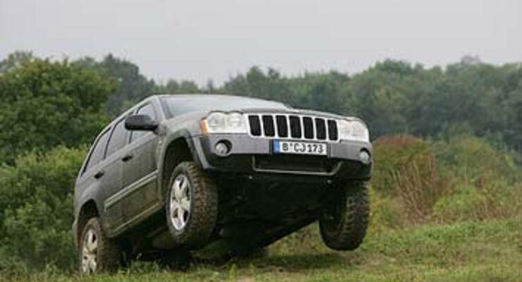 jeep grand cherokee 5.7 v8 hemi im test - auto motor und sport