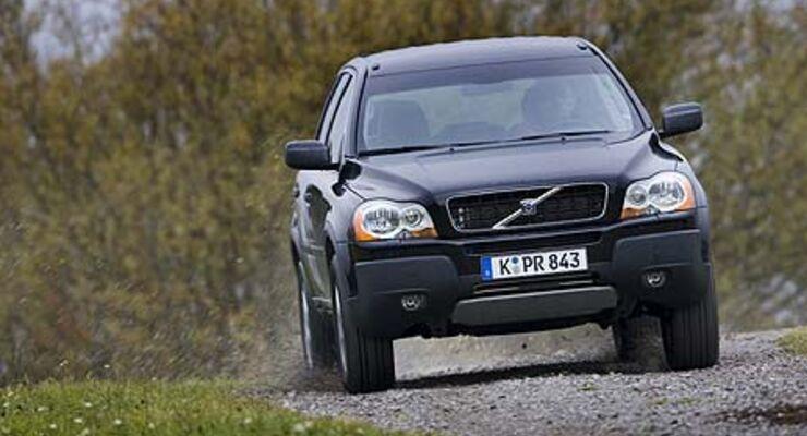 Volvo Xc90 D5 7 Sitzer Im Test Auto Motor Und Sport