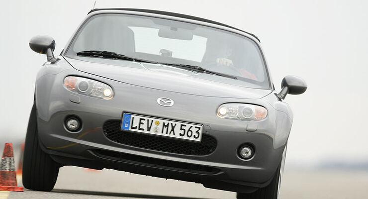 Mazda MX-5: Fahrwerkstune-up - auto motor und sport