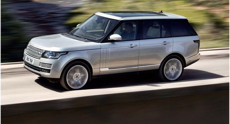 neuer range rover verkauft sich gut 1 jahr wartezeit auto motor und sport. Black Bedroom Furniture Sets. Home Design Ideas