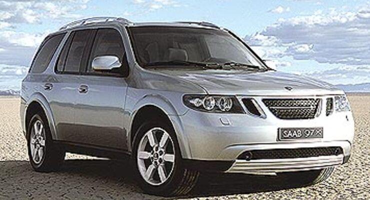 New York: Saab 9-7X - der erste Schweden-SUV - auto motor ...