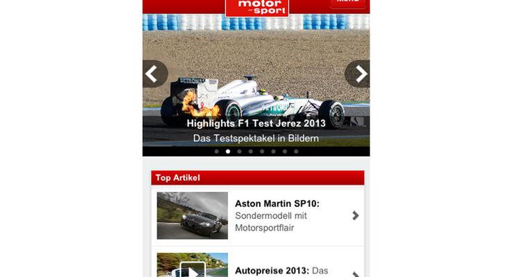mobil sport de app