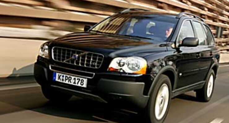 Volvo Xc90 V8 Im Test Auto Motor Und Sport
