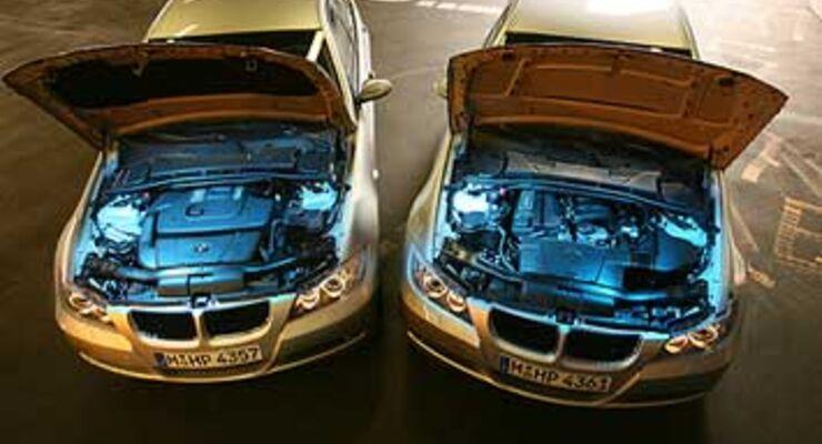 bmw 318i vs. 318d: zahl der wahl - auto motor und sport
