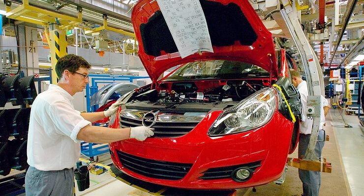Opel Sanierungsplan Opel Betriebsrat Kündigt Widerstand An Auto
