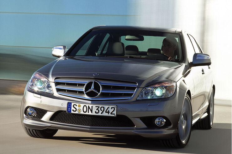 Mercedes C Klasse Die Preise auto motor und sport