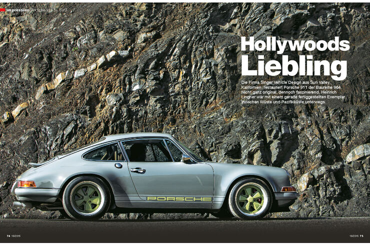 fahrbericht porsche 911 by singer vehicle design auto. Black Bedroom Furniture Sets. Home Design Ideas