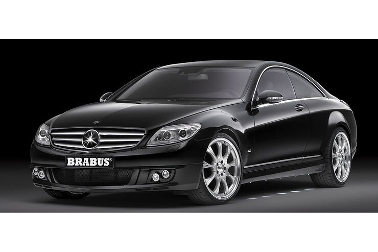 brabus mercedes cl 730 ps 340 km h auto motor und sport. Black Bedroom Furniture Sets. Home Design Ideas