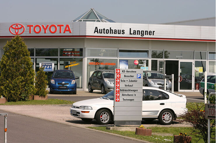 werkst ttentest toyota 2008 autohaus langner apolda. Black Bedroom Furniture Sets. Home Design Ideas