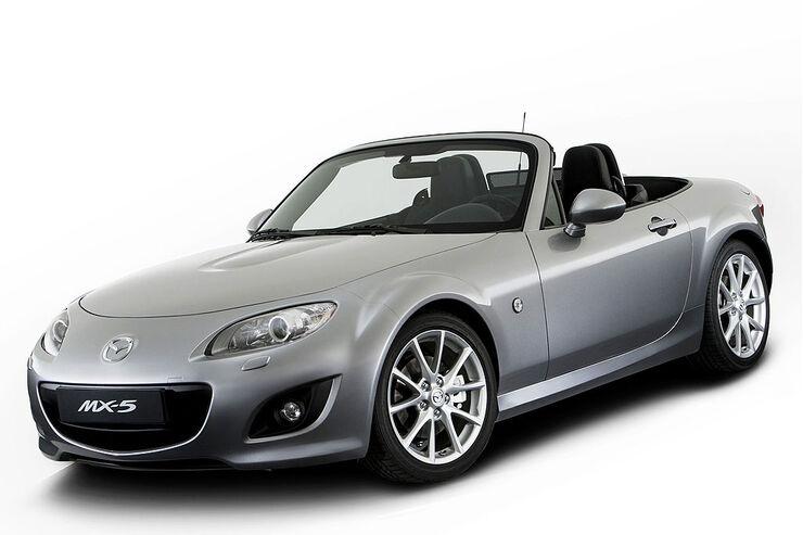 mazda mx 5 neuer look f r den roadster auto motor und sport. Black Bedroom Furniture Sets. Home Design Ideas