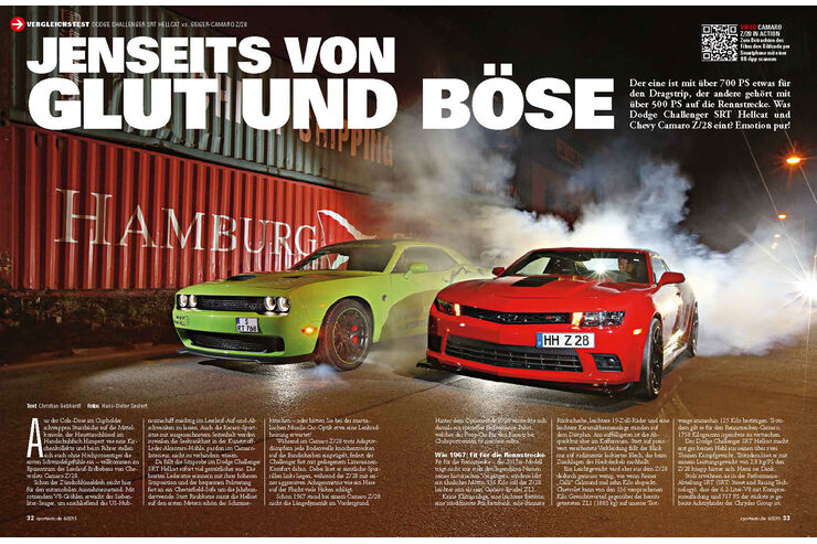 vergleichstest dodge challenger srt hellcat geiger. Black Bedroom Furniture Sets. Home Design Ideas